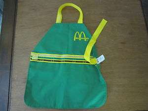 Fisher Price Fun with Food McDonalds Crew Uniform Apron