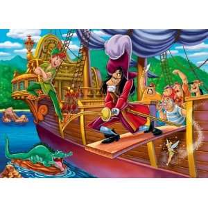Clementoni   Puzzle pour enfant   Peter Pan   2 puzzles   20 pièces