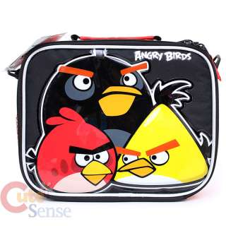 Rovio Angry Brids School Roller Backpack Rolling Lunch Bag 3 Birds 5