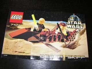 LEGO STAR WARS DESERT SKIFF 7104 SET