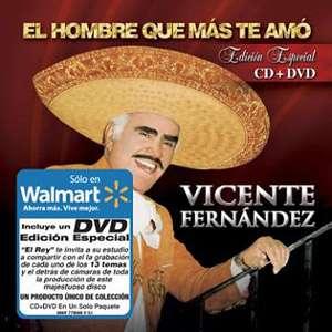 Que Mas Te Amo ( Exclusive) (CD/DVD), Vicente Fernandez Latin