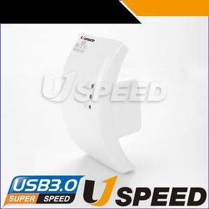 Uspeed WIFI Repeater Access Point 300/150/54Mbit Range Extender for