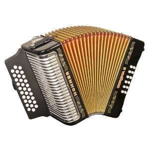 Hohner Accordions 3500GB 43 Key Accordion: Musical