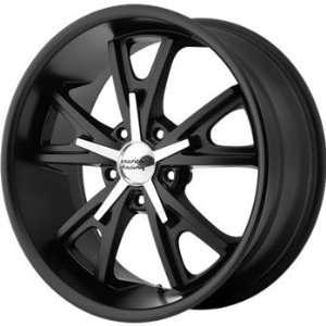 American Racing Vintage Daytona 22x9 Black Wheel / Rim 5x5 with a 12mm