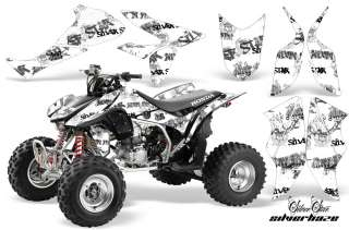 AMR ATV GRAPHICS KIT HONDA 450R 450 DECALS TRX450R QUAD
