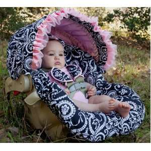 Baby Bella Maya NEW Mid Summer Dream Infant Car Seat Cover Baby