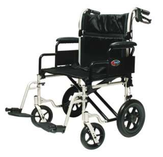 Everest & Jennings Bariatric Transport Chair Wheelchair NEW