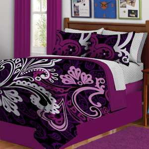 Bed in a Bag Reversible Comforter Complete Bedding Set *Free Shipping