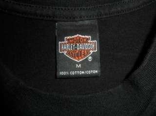 Motor Cycles 1997 T shirt LAS VEGAS NEVADA WOLF EAGLE MOUNTAINS