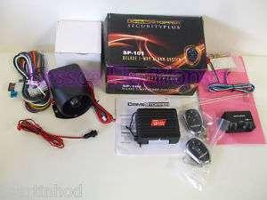 Crime Stopper SP 101 Remote Car Alarm Security System