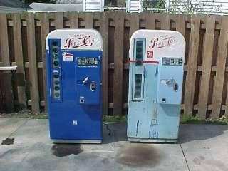 vmc pepsi 81 soda machine coca cola coke PRO restored