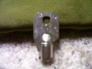 Ace Tubular 7 Cut Key For Soda Machine Coke Pepsi Vend