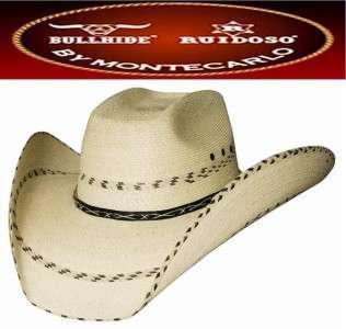 1eeb325071874 NEW Montecarlo Bullhide Hats SummerHaven 15X Palm Leaf Straw Western