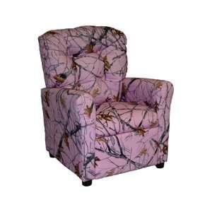 Brazil Furniture 4 Button Back Child Recliner   True West