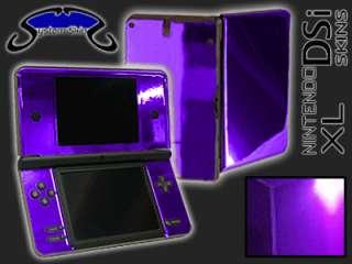 PURPLE CHROME Skin for Nintendo DSi XL Console System Vinyl Decal Wrap