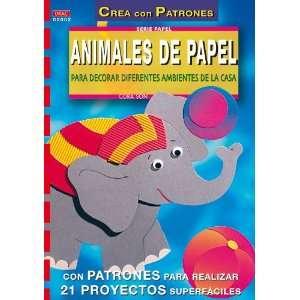 Animales de papel para decorar diferentes ambientes de la casa: Cora