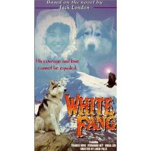 White Fang [VHS] Franco Nero, Virna Lisi, Fernando Rey