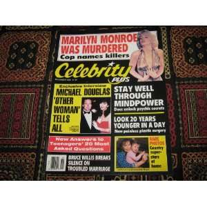 Celebrity Plus Magazine (Marilyn Monroe , Michael Douglas