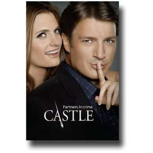 Flyer TV Show 11 x 17   Stana Katic Nathan Fillion Partners   No Text