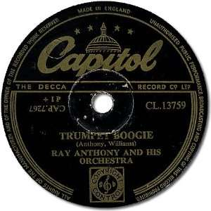 Trumpet Boogie Ray Anthony Music