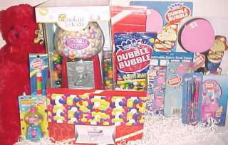 NEW BUBBLE GUM EASTER TOY GIFT BASKET BUBBLE gum BIRTHDAY TOYS machine