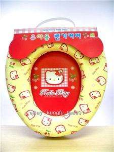 Hello Kitty Baby Kid Padded Potty Training Toilet Seat
