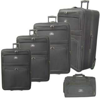 McBrine Luggage 5 Piece Upright Luggage Set Luggage