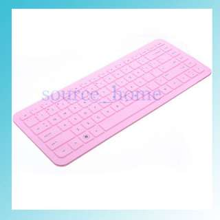 Pink Silicone Keyboard Cover Protector Skin for HP Pavilion G4