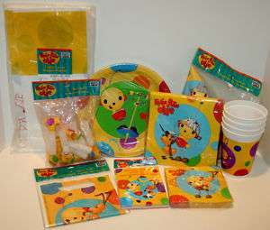 All Rolie Polie Olie Birthday Party Supply FREESHIPPING