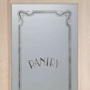 Pantry Door 2/0 x 6/8 1 Lite French Frosted Glass Doors