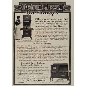 Jewel Gas Range Cook Kitchen Stove   Original Print Ad: Home & Kitchen