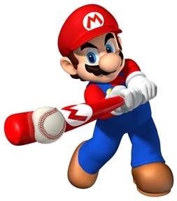 Sticker Decal   Super Mario Bros Baseball Game CA69
