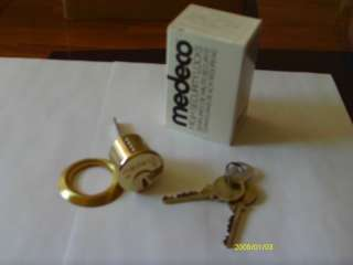 MEDECO RIM CYLINDER***LOCKSMITH HIGH SECURITY LOCK***