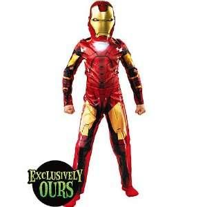 Boys Mark VI Iron Man Costume   Medium Toys & Games