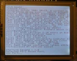 IMAGEN 320x240 Arduino AVR touch de S1D13700 LCD del gráfico