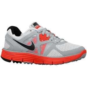 Big Kids   Running   Shoes   Pure Platinum/Wolf Grey/Max Orange/Black