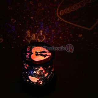 Sweet Love Star Sky Romantic Night Light Lamp Projector