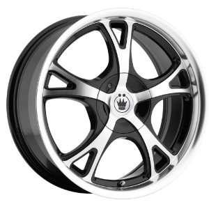 Konig Hold on 15x6.5 Acura Honda Toyota Nissan Wheels Rims Black