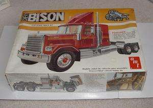 Vintage AMT Chevy Bison Truck Model Kit 1/25 Made in USA Sealed