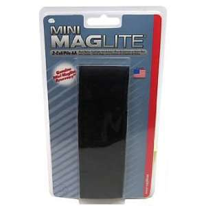 Maglite (Flashlight Holder)   Nylon Full Flap Holster, AA Mini Mag
