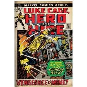 Marvel Comics Retro Luke Cage, Hero for Hire Comic Book