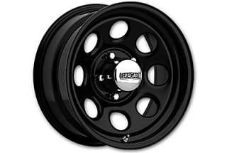 Cragar Soft 8 397 Wheel Black 16x7 6x5.5