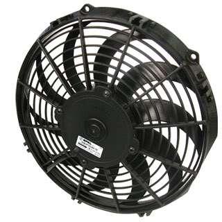 11 Curved Blade Low Profile Fan Electric Cooling Fan 30100411