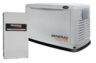 Generac 17/16KW Air Cooled Natural/Propane Gas Standby Generator