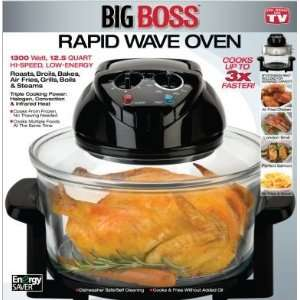 Boss Rapid Wave Oven , Halogen Infrared Convection