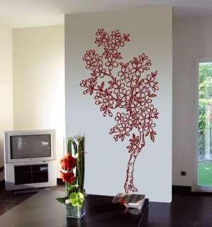 BIG CHERRY TREE   Vinyl Wall Art Decals Huge size stick
