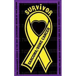 Sarcoma Bone Cancer Ribbon Decal 6 X 11 Everything Else