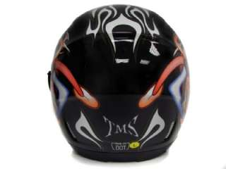 DUAL VISOR FULL FACE MOTORCYCLE HELMET DOT W/ SMOKE SUN SHIELD