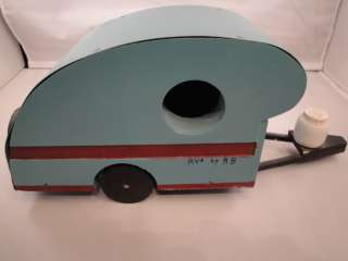 TRAVEL TRAILER BIRDHOUSE Teardrop Camper RV Americana Vintage RVs by