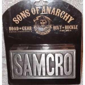Sons of Anarchy SAMCRO Embossed Metal BELT BUCKLE